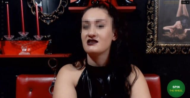 Pretty domina girl on chat